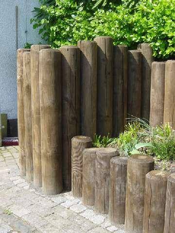 Holzterrassen Sichtschutz Und Verschiedenes Holzpalisaden Von Koch