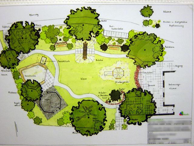 Planung garten und landschaftsbau - Garten skizze erstellen ...