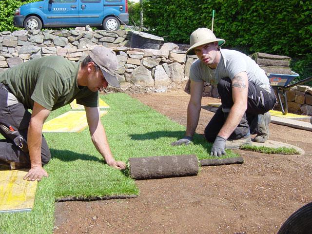vegetationstechnische arbeiten von koch | garten- und landschaftsbau, Garten und bauen